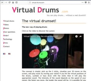Screenshot Virtual Drums