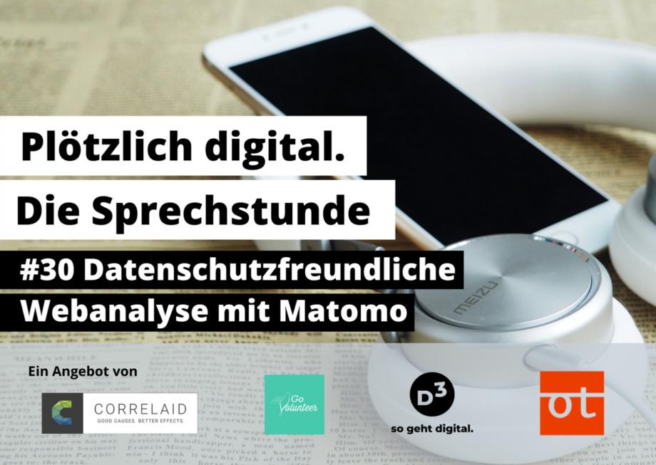 Matomo-Vortrag bei Plötzlich Digital – Video-Einblick